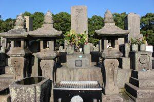 西郷隆盛の墓